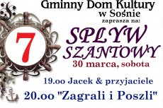 Zaproszenie na 7 spływ Szantowy