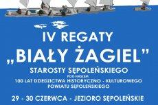 IV Regaty Biały Żagiel Starosty Sępoleńskiego