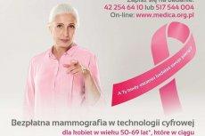 Badania mammograficzne w Sośnie
