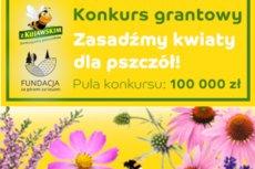 """Konkurs grantowy """"Z Kujawskim pomagamy pszczołom"""""""