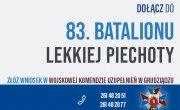 Dołącz do 83. batalionu lekkiej piechoty