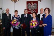 Złote Gody Państwa Jerzego i Janiny Gil oraz Państwa Bogdana i Stefanii Winkler