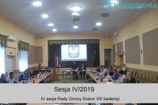 IV sesja Rady Gminy Sośno 31.01.2019