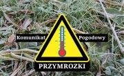 Ostrzeżenie meteorologiczne Nr 11/2020 - Przymrozki