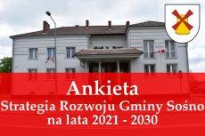 Ankieta dotycząca Strategii Rozwoju Gminy Sośno