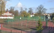 Informacja o dostępności boiska wielofunkcyjnego przy Szkole Podstawowej w Sośnie